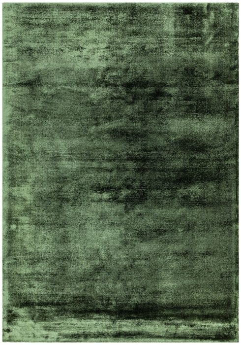 Dolce Rug by Asiatic Carpets in Green Colour; hand-woven and hand-washed for radiance and softness for an organic feel