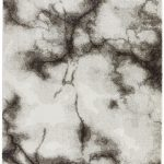 Dream Rug by Asiatic Carpets in DM02 Cream/Black Design; an abstract design rug, perfect for your living room or bedroom