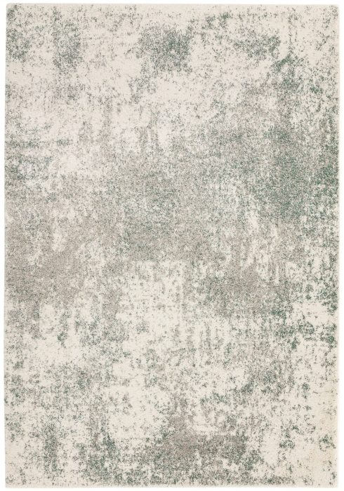 Dream Rug by Asiatic Carpets in DM06 Cream/Sage Design; an abstract design rug, perfect for your living room or bedroom