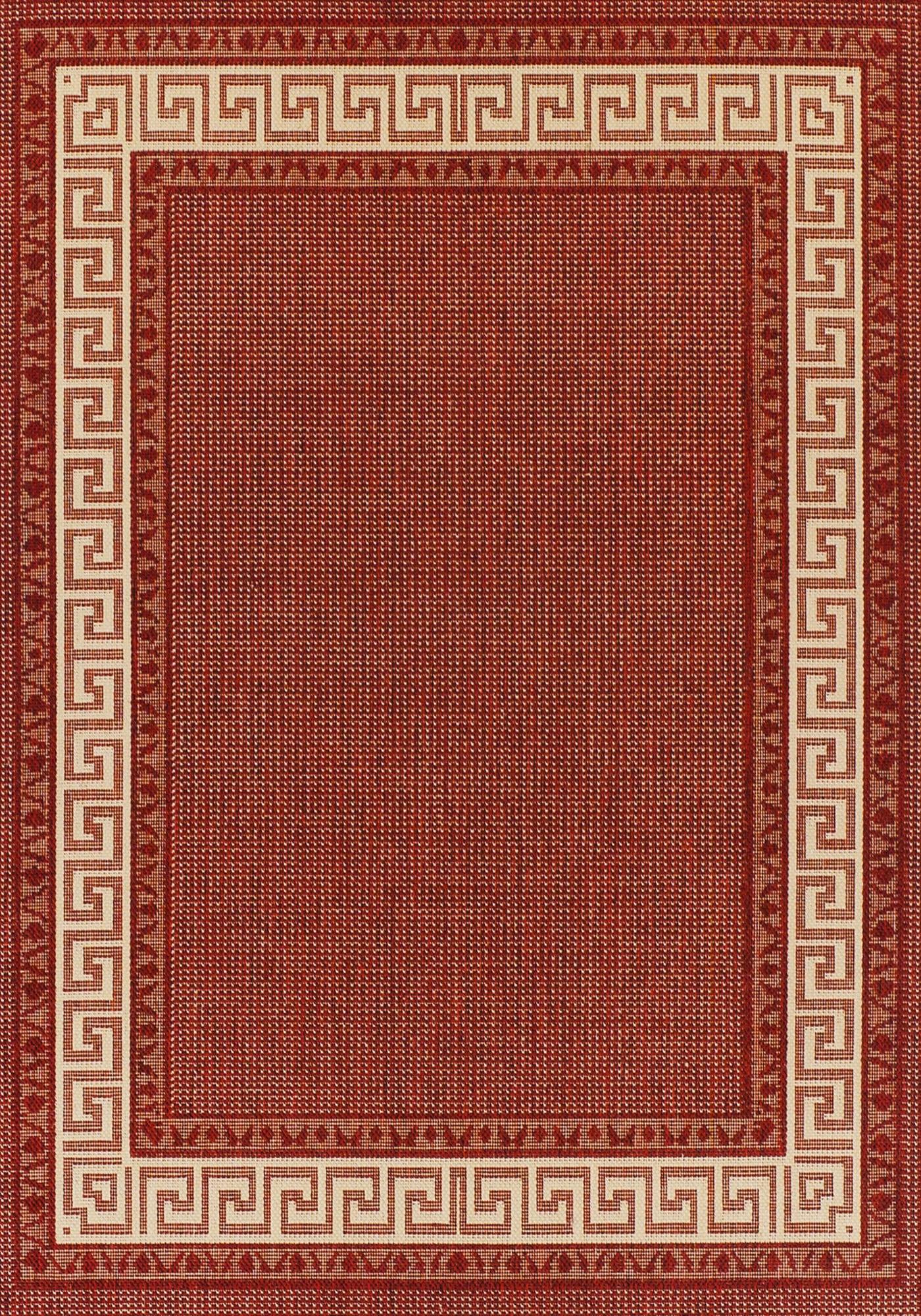 Greek Key Flatweave Rug By Oriental