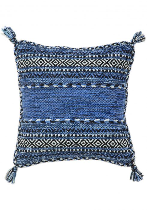 Kelim Blue Cushion