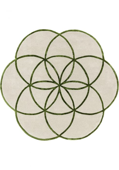 Lotus Green Rug