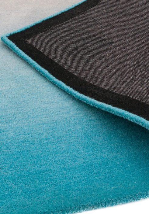 Ombre Blue Rug Closeup