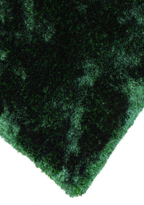 Plush Emerald Rug Closeup