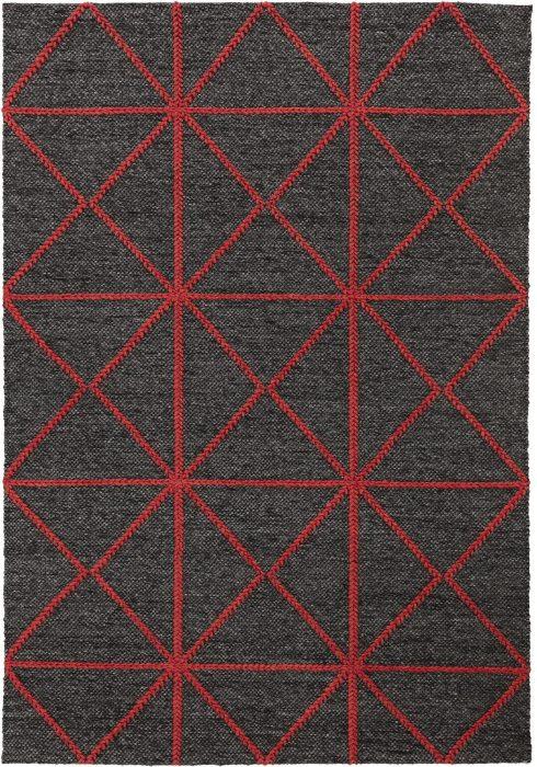 Prism Red Rug