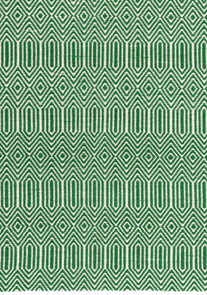 Sloan Green Rug Closeup