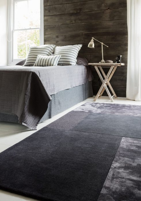 Tate Charcoal Rug Roomset