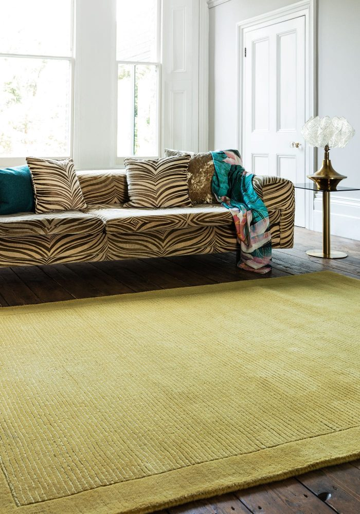 York Yellow Rug Roomset