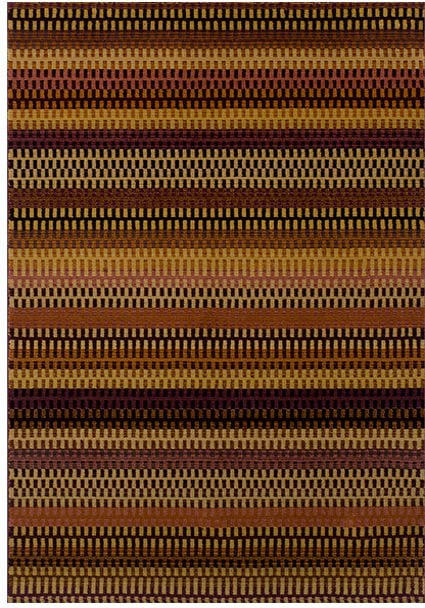 Apollo Rug by Oriental Weavers in 2721C Design has unique space dye yarn, fusing traditional colours with modern patterns