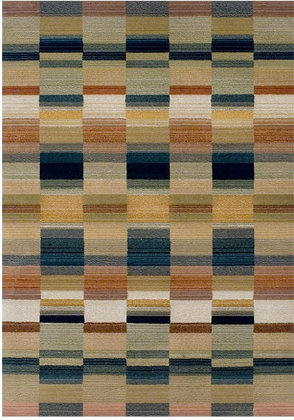 Apollo Rug by Oriental Weavers in 5506J Design has unique space dye yarn, fusing traditional colours with modern patterns