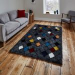 Broadway BW1408 Charcoal Rug Roomset 2