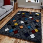 Broadway BW1408 Charcoal Rug Roomset
