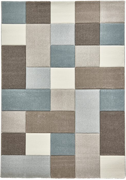 Brooklyn 646 Beige.Blue _2 Rug