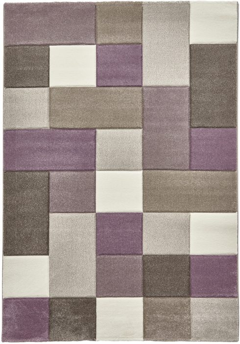 Brooklyn 646 Beige.Purple _2 Rug