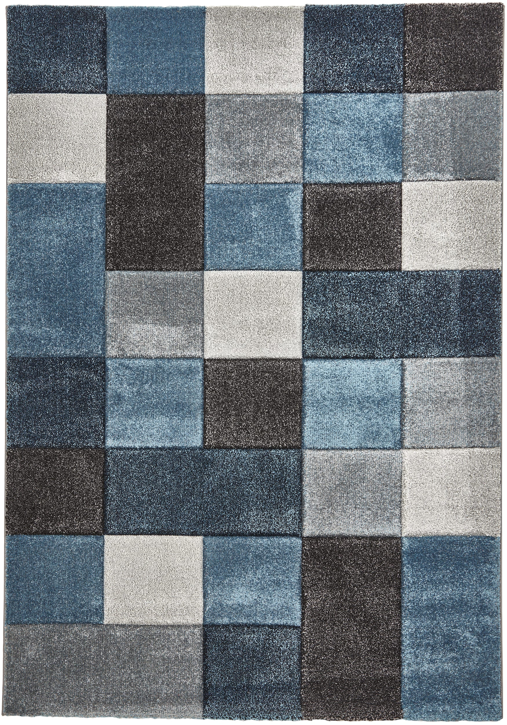 rug colour 646 Blue/Grey by Think Rugs