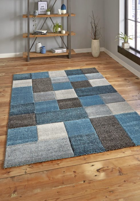 Brooklyn 646 Blue.Grey _9 Rug