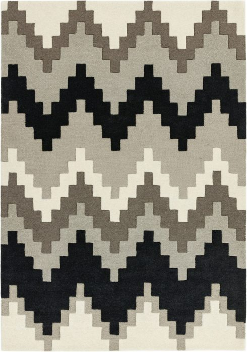 Matrix Rug by Asiatic Carpets in MAX68 Cuzzo Stone Design; contemporary wool hand-tufted design Matrix rug