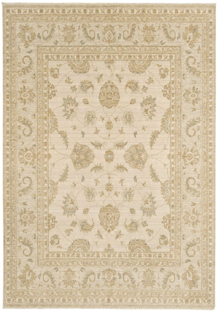 Chobi Rug by Asiatic Carpets in CB01 Design; created from hand-spun wool yarns & then hand washed for authentic look & feel