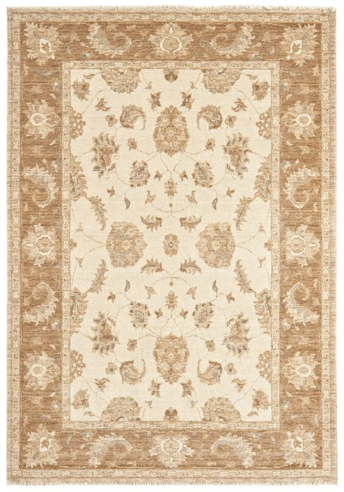 Chobi Rug by Asiatic Carpets in CB03 Design; created from hand-spun wool yarns & then hand washed for authentic look & feel