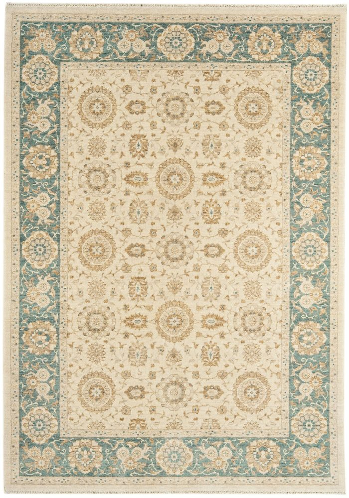 Chobi Rug by Asiatic Carpets in CB05 Design; created from hand-spun wool yarns & then hand washed for authentic look & feel