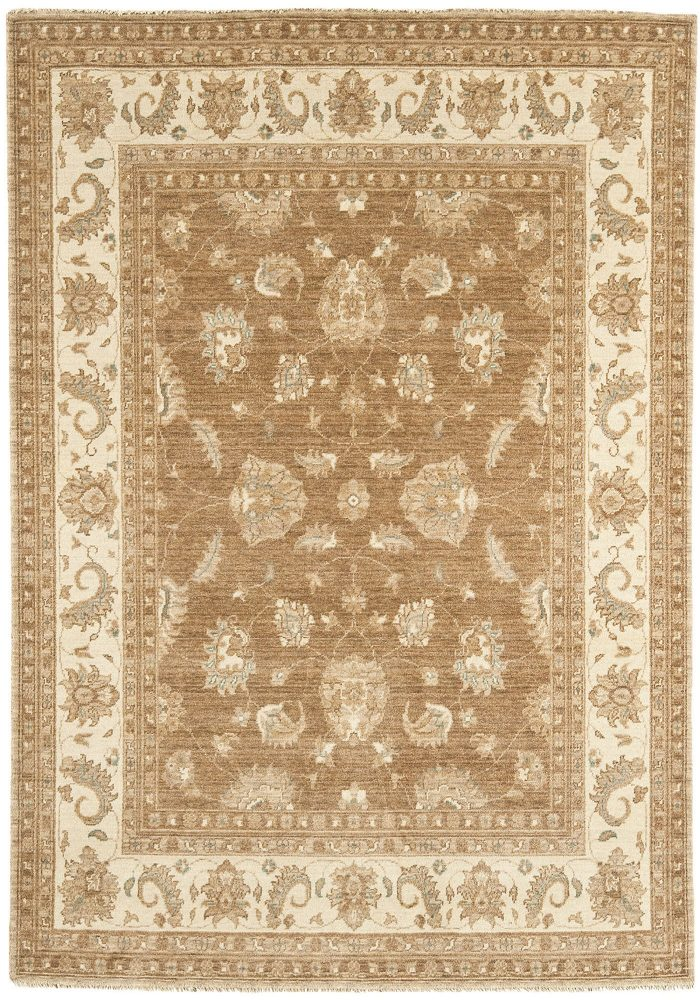 Chobi Rug by Asiatic Carpets in CB06 Design; created from hand-spun wool yarns & then hand washed for authentic look & feel