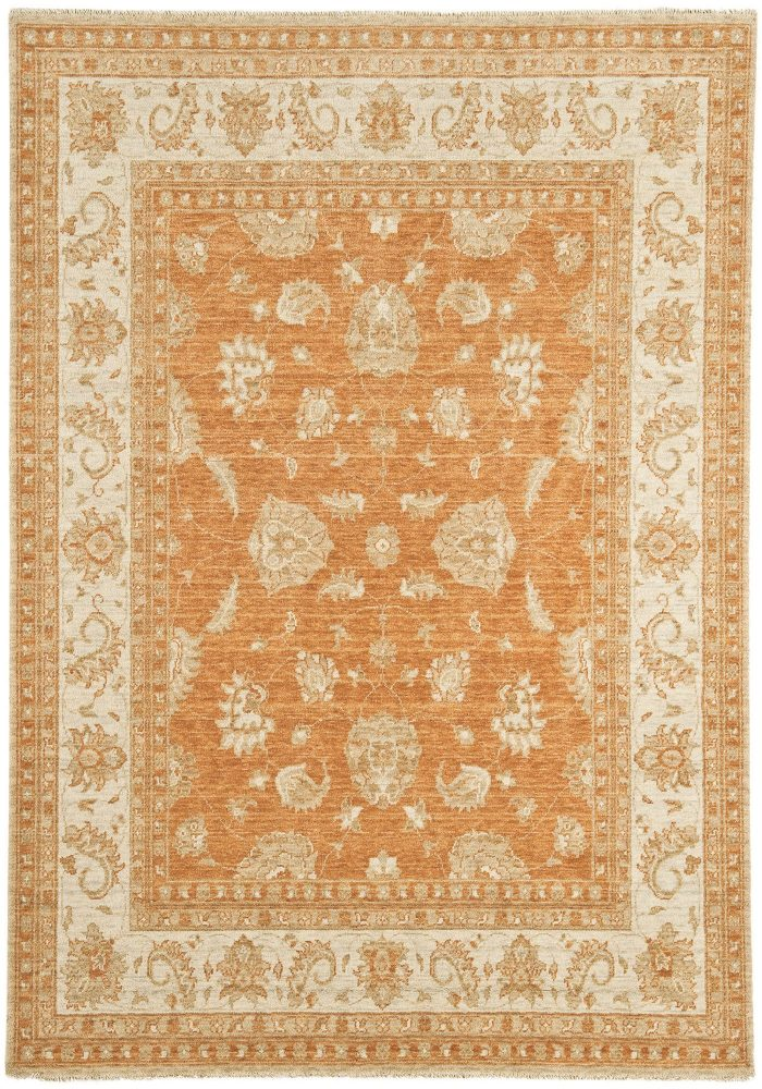 Chobi Rug by Asiatic Carpets in CB07 Design; created from hand-spun wool yarns & then hand washed for authentic look & feel