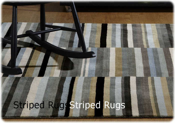 Striped Rugs Section - Main Image