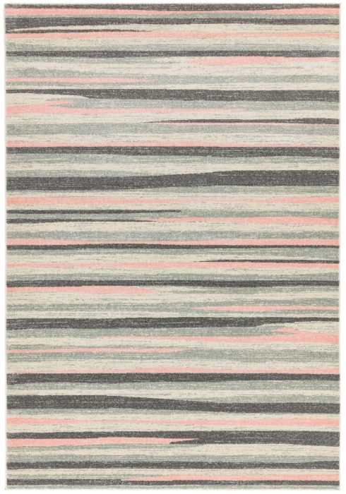 Colt Rug by Asiatic Carpets in CL11 Stripe Pink Design; a combination of modern classics and bold geometrics