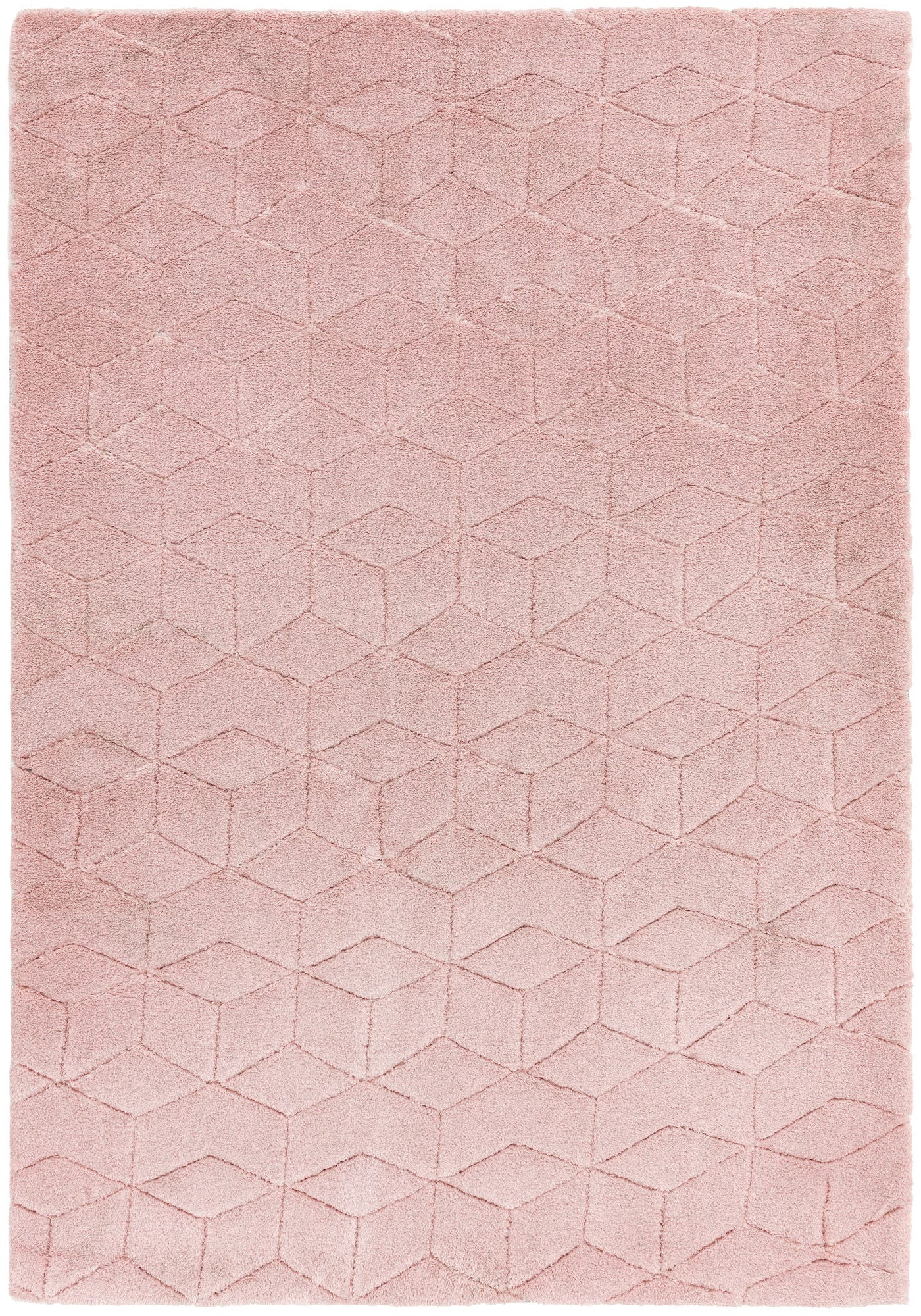 Cozy Rug By Asiatic Carpets Colour Pink