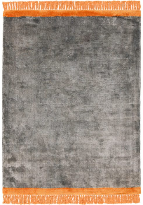 Elgin Grey Orange Rug