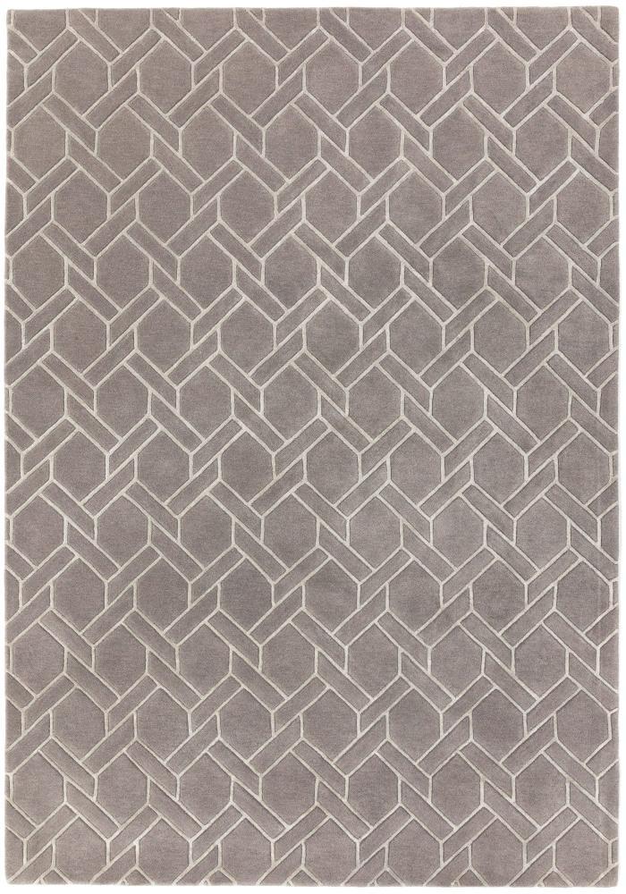 Nexus Rug By Asiatic Carpets Design Fine Lines 06 Grey