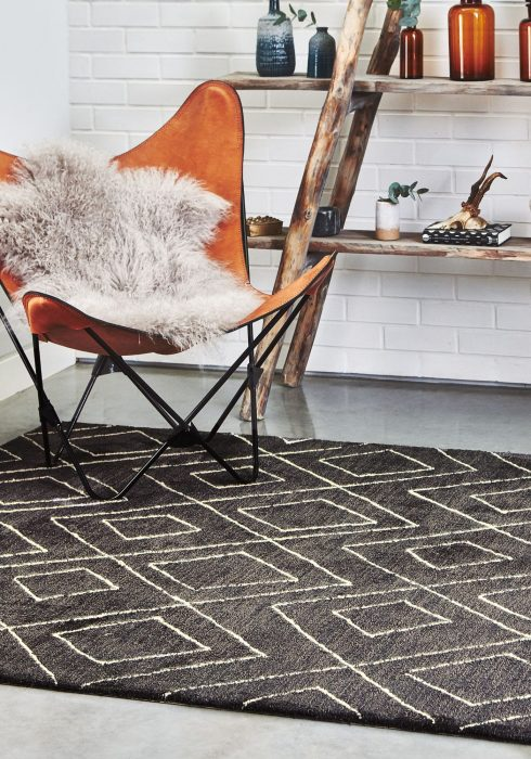 Nomad NM01 Dark Grey Rug