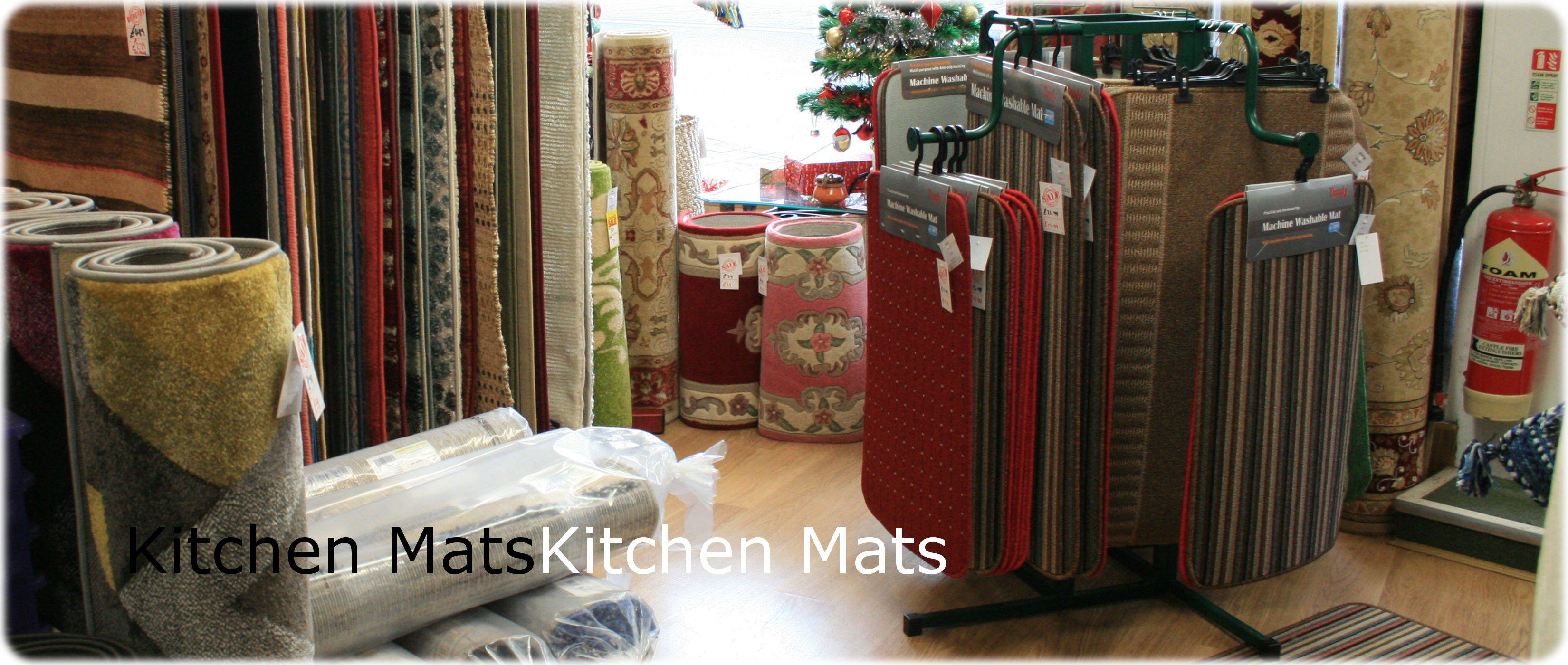 Kitchen mats and rugs logo