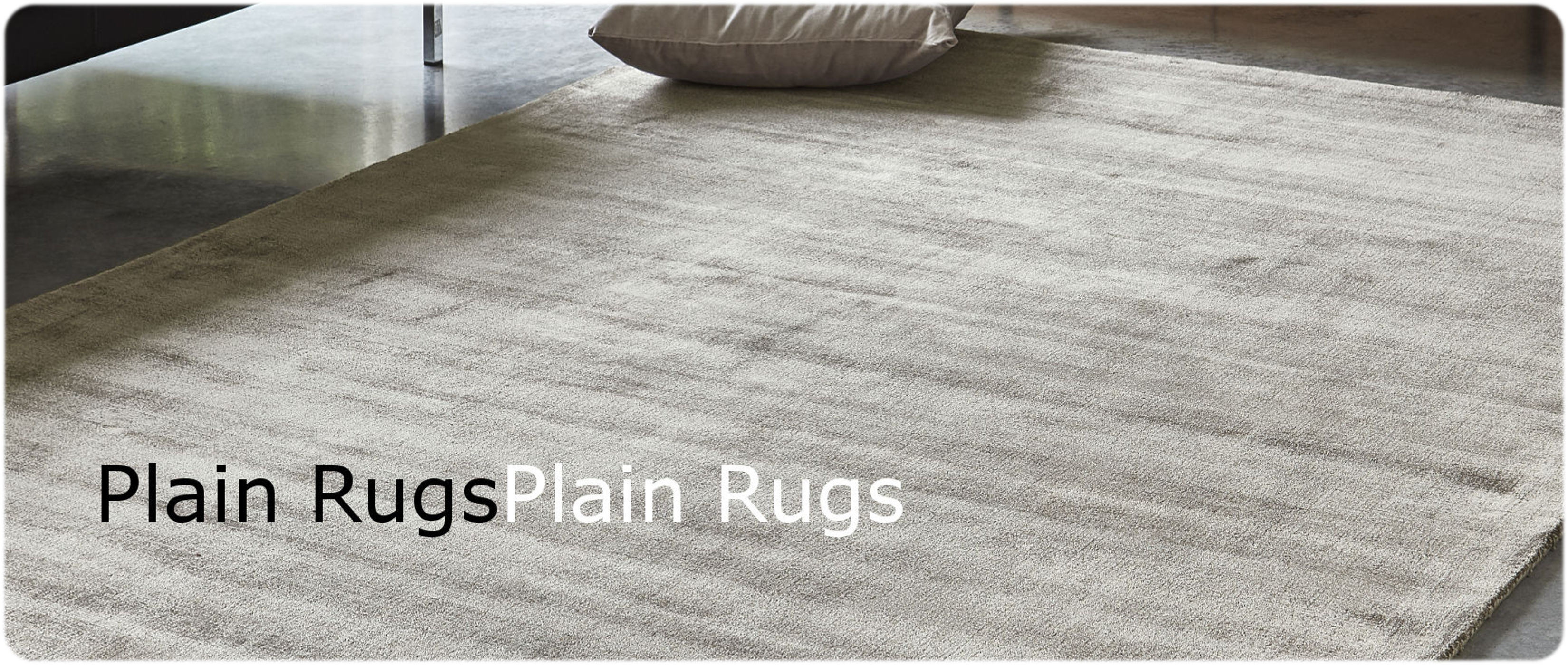 plain rugs logo